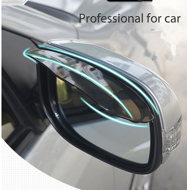 The Car Styling Soft Pvc Rearview Mirror Rainproof Hood For Mazda 3
