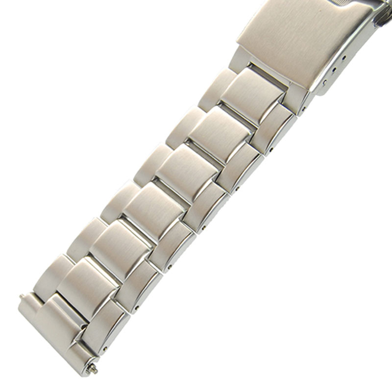 22 Mm Stainless Steel Watch Band Bracelets  Replacement For Seiko PROSPEX Street Series SBBN015/017/031/033/SNE498/499