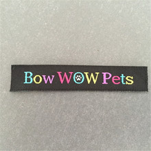 Customized High Quality Woven Label Garment labels Custom Woven Tags custom soft quality woven labels woven tags