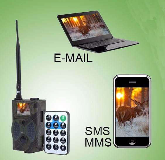 Best Selling MMS Email GPRS IR Trail Camera with SMS HC300M Security Hunting Guard Scout Trail Camera hc 550m gsm gprs sms mms security hunting trail camera hc550m 16mp with 940nm black invisible vision hc 550m