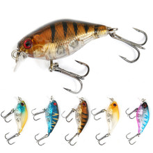 1PCS / Road Sub-bait Plastic Simulation Hard Bait Chubby 4CM 4.4g Freshwater Fishing Sea Tackle