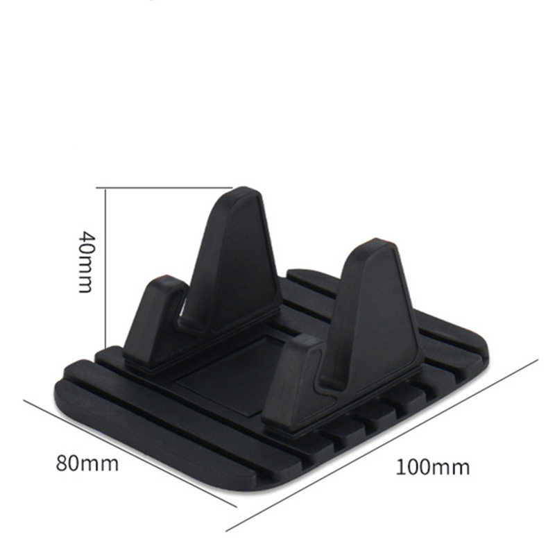 Универсальный нескользящий Автомобильный держатель для телефона iPhone X 8 7 6 6s Plus кронштейн силиконовый коврик стабильное Крепление Держатель для мобильного телефона Подставка <