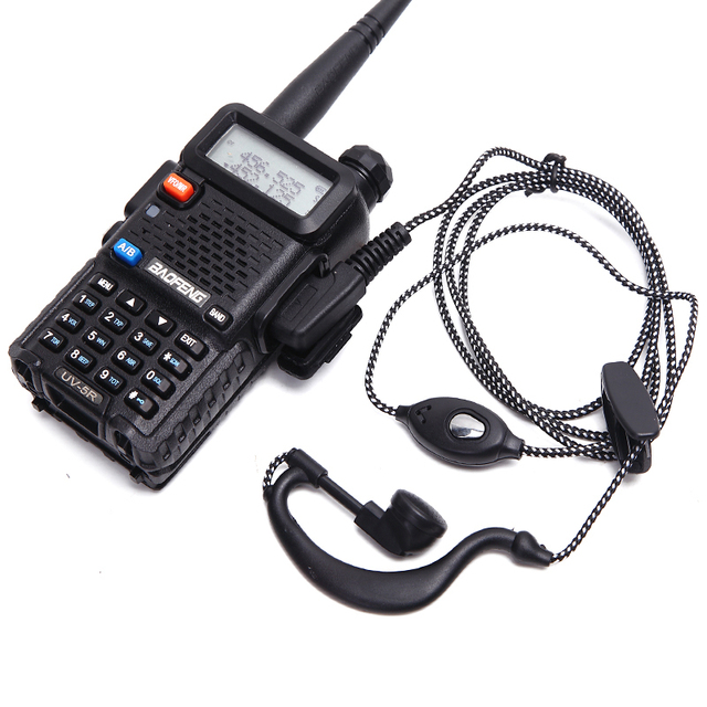 2 قطعة راديو محطة سماعة سماعة TK ميناء موصل 2Pin PTT سماعة سماعة رأس لاسلكية كينوود BAOFENG UV 5R BF 888S kd c1