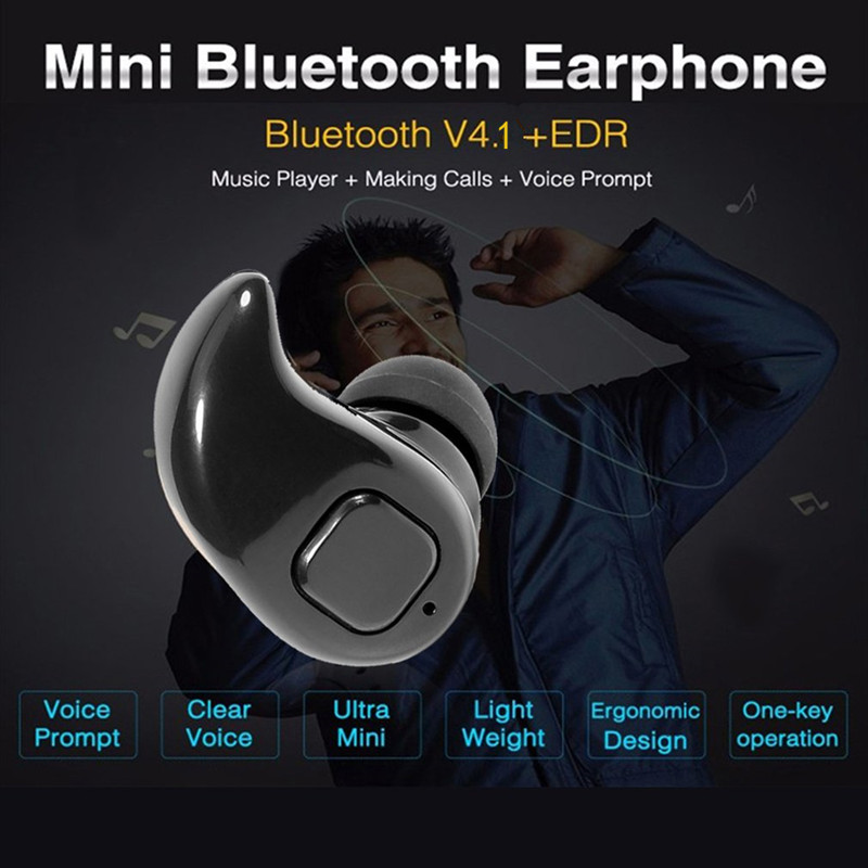 Mini Wireless Sport Bluetooth V4.1 Earphone In Ear Earbuds Handsfree Stereo Headset Headphones Mic for Smartphone Audifonos hot sale in ear wireless stereo bluetooth gaming earphone handsfree with mic for ps3 smartphone tablet pc