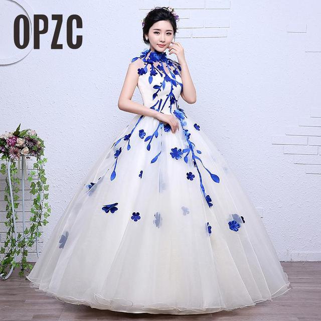 Vestido de novia azul con negro – Hermosos vestidos