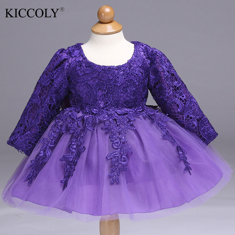 Baby Girl Dresses 2017 New Summer Lace Elegant Party Kids