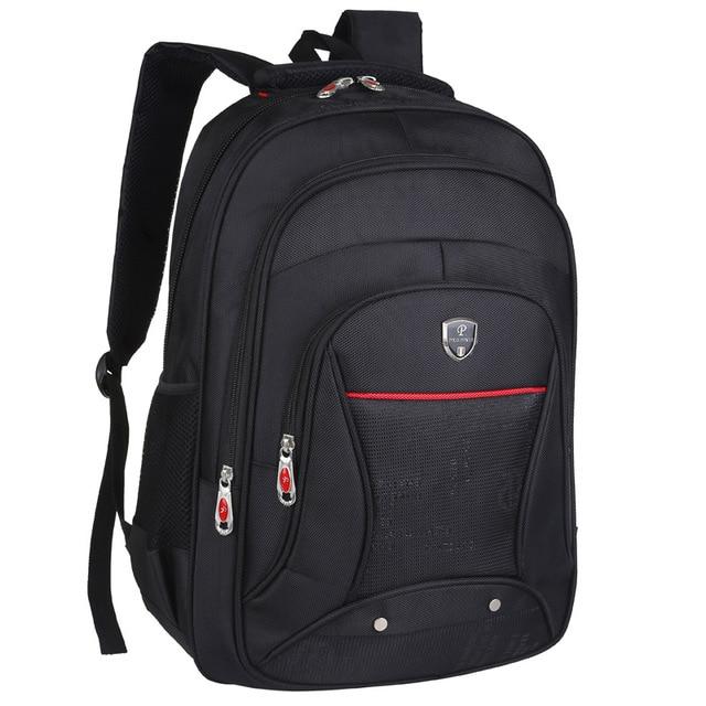 f8c719a08ec8 Large Capacity Laptop school Backpack bag Teenagers Business Casual Travel  Backpack Men Multifunction Waterproof 15inch Backpack