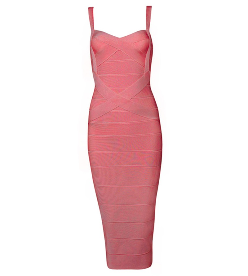 Bqueen-2017-New-Women-Sexy-Celebrity-Red-Black-Elastic-Bandage-Dress-Lady-Spaghetti-Strap-_003