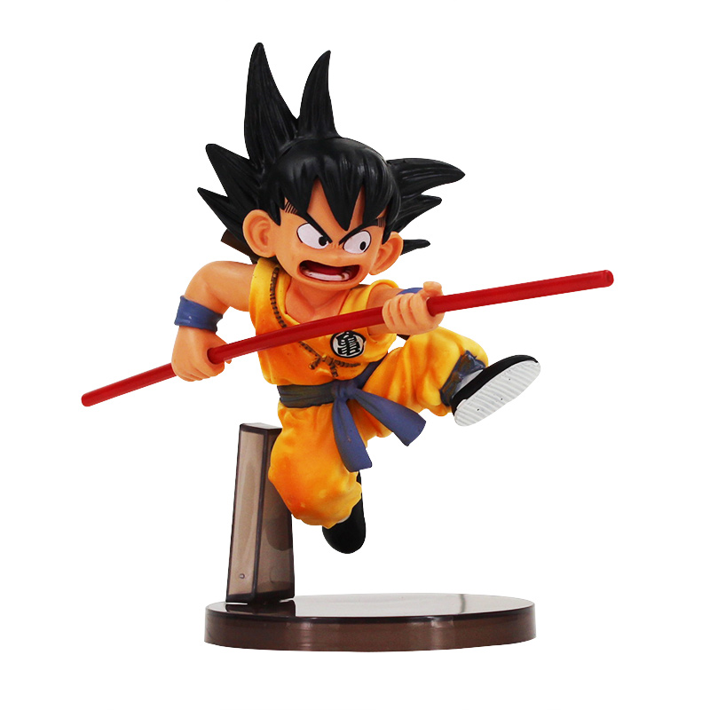 1pcs 14cm Son goku Childhood Dragonball Dragon Ball Z PVC Action Figure font b Toy b