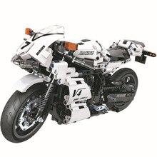 WEILE Creator Technic Street Motorcycle Building Blocks Kits Bricks Classic City Moto Model Kids Gift Toys Compatible Legoings