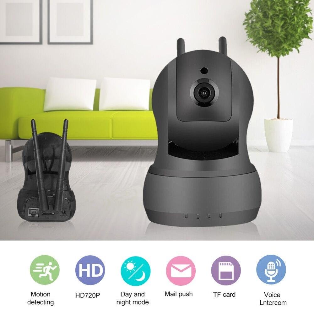 Cámara Wifi casa de seguridad inalámbrica Cámara Wi-Fi registro de Audio de vigilancia Monitor de bebé 720 p IR visión nocturna HD Mini CCTV cámara