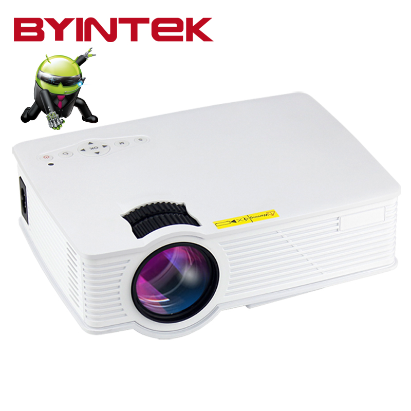 Home theatre Smart Android 1080P HD HDMI USB  LCD LED Mini Projector Proyector Beamer screen Wireless push  For Iphone