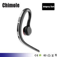 20pcs Lot Handsfree Bluetooth Headsets Earphone Wireless Sweatproof Sports Bluetooth Headphone With Mic Voice Control Earphone