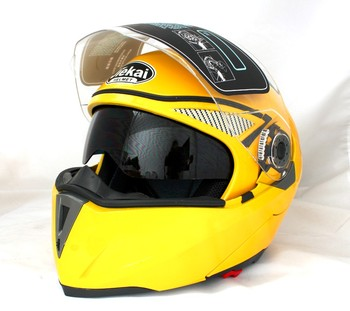 Αγωνιστικό κράνος μοτοσικλέτας με sweat cap