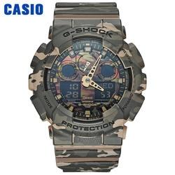 Casio horloge g shock horloge heren topmerk luxe LED militair digitaal horloge sport Waterdicht horloge quartz Limited herenhorloge relogio masculino reloj hombre erkek kol saati montre homme zegarek meski GA-100CM-5A