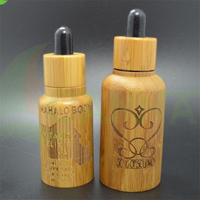 a3face0e2ea2 US $165.0 |50pcs* 50ml hot sale high quality 50ml essential oil bamboo  dropper glass bottle 50g cream glass jar with bamboo-in Refillable Bottles  from ...