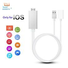 HDMI ТВ-карты кабель ТВ кабель Поддержка airmirror AirPlay только для IOS Apple IPhone iPad ipod (кабель Lightning не входит в комплект)