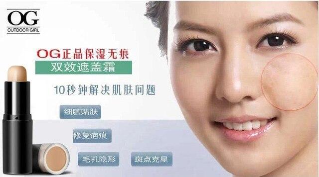 OG makeup concealer cream foundation genuine Seamless cover acne ...