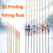 Mannequin 3D Printing Fishing Floats Stopper Colourful Boya Composite Nano Buoy Shallow Water Bobber Carp Fishing Sort out Equipment