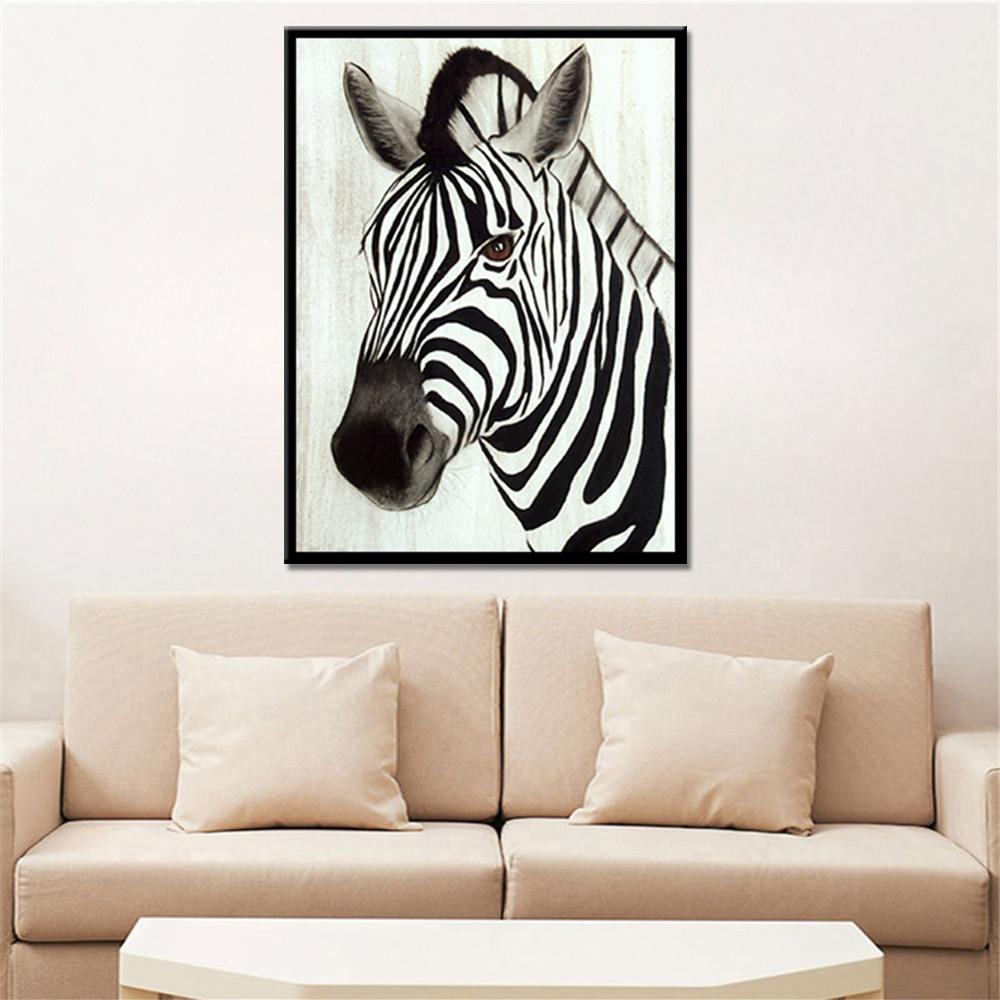 ᐊNo Marcos gota carteles animales León cebra elefante lienzo ...