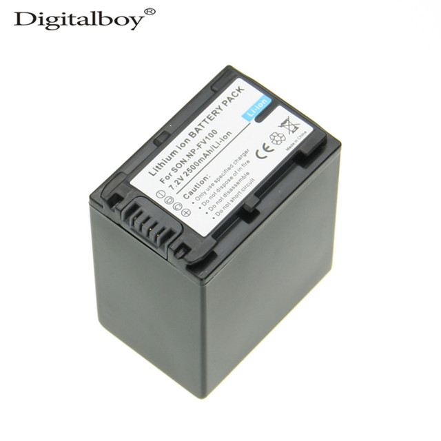 Digitalboy 1 unids np-fv100 np fv100 np-fv100 para sony dcr-dvd103 xr100 hdr-xr550/e, hdr-xr350/e, hdr-xr150/e alta calidad