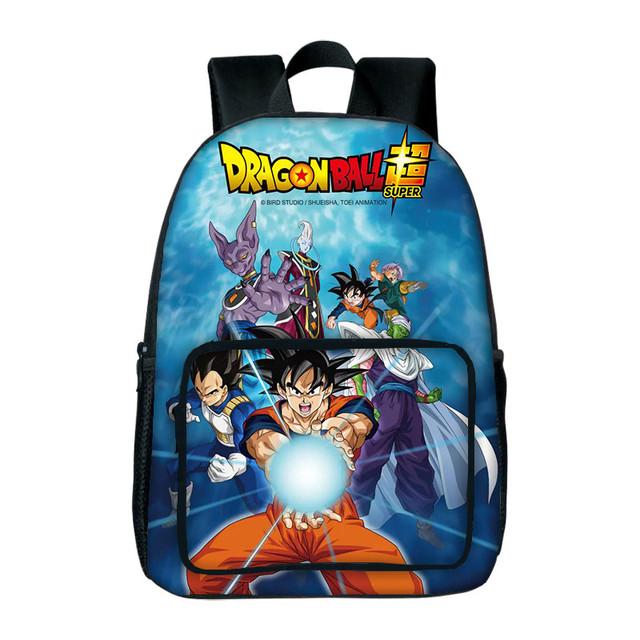 Dragon Ball Z Goku Vegeta Backpack For Children