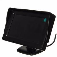 4 3 Inch LCD Screen Display DC 12V 24V Car Vehicles DVD Rearview Cameras Reversing Monitor