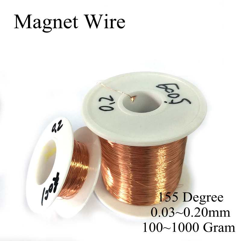 QA-1/155 Degree 0.03MM~0.20MM 100~1000Gram/Roll Polyurethane Enameled Copper Wire Magnetic Coil Straight Winding Magnet CableQA-1/155 Degree 0.03MM~0.20MM 100~1000Gram/Roll Polyurethane Enameled Copper Wire Magnetic Coil Straight Winding Magnet Cable