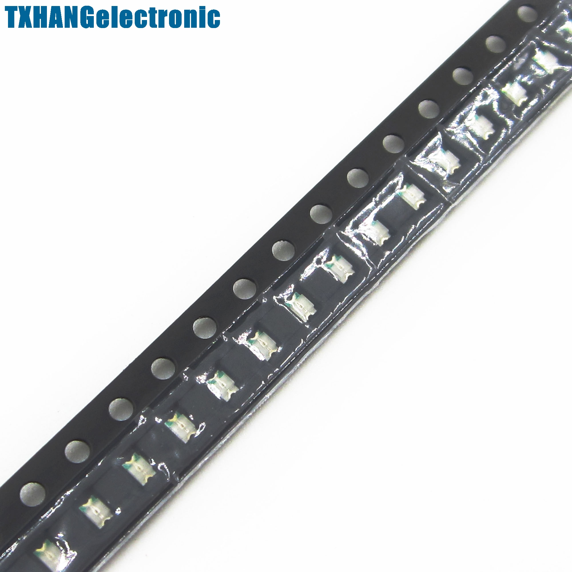 100pcs SMD SMT 0805 Green Super bright GREEN LED lamp Bulb NEW