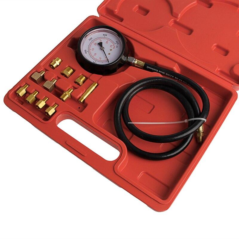 Бесплатная доставка Авто волновая коробка ЦИЛИНДР Измеритель давления масла тест er манометр испытательные инструменты