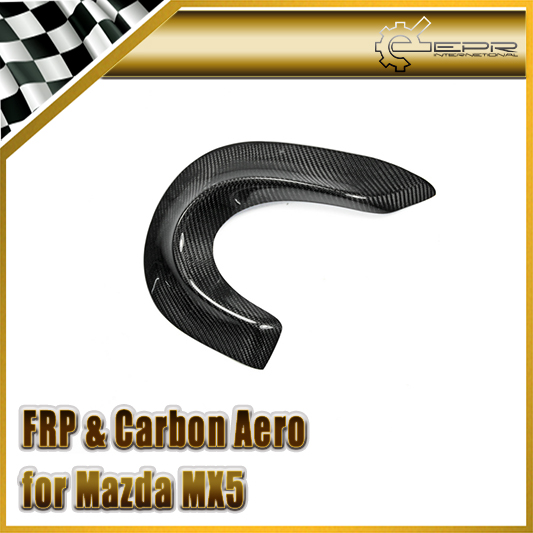 Car-styling For Mazda NA MX5 Carbon Fiber Rear Bumper Exhaust Heatshield