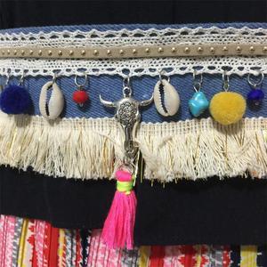 Image 3 - 바다 쉘 boho 벨트 패션 배꼽 체인 벨트 댄스 보헤미안 민족 바디 체인 여성 쥬얼리