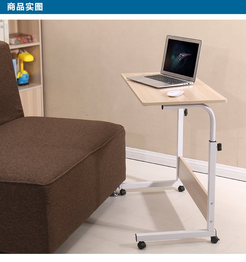 Domestic mobile notebook computer desk. Simple fashion desktop computer desk. Table lazy bed lifting цена
