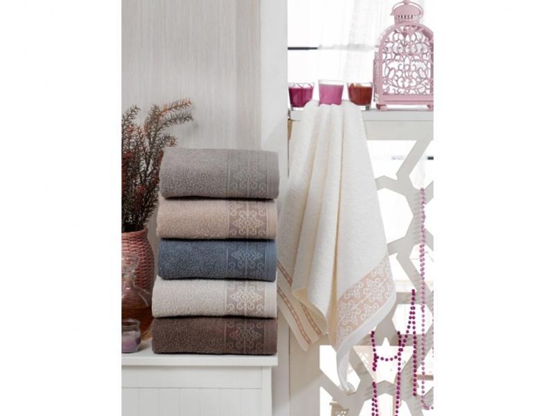 Towel set TWO DOLPHINS, Diana, 6 items two tone handle eye brush set 3pcs