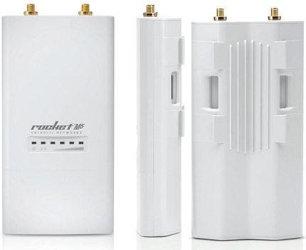 Ubiquiti RocketM2 2.4 GHz Hi Power 2x2 MIMO airMAX TDMA BaseStation Ponte de Rede Sem Fio