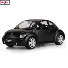 Maisto 1:24 Beetle Mercedes Ford Mustang Audi R8 simulation alloy car model crafts decoration collection toy tools gift