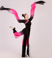 The New Long Sleeves Classical Dance Costumes Ink Modern Dance Dance Performance Apparel Clothing Female Clothes