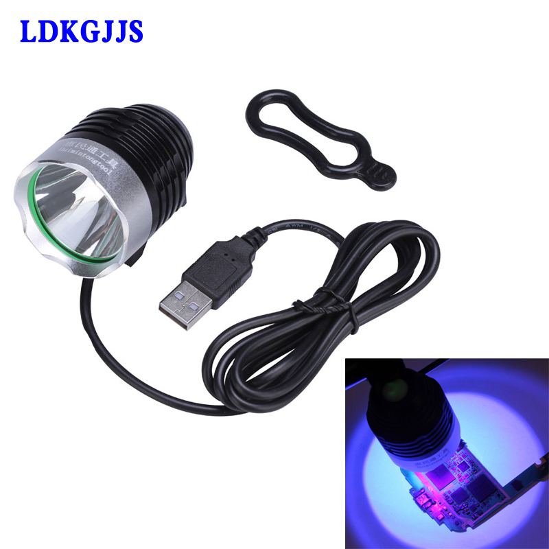 Mobile Phone Repair Tool UV Glue Curing Lamp USB 5V LED Ultraviolet Green Oil Curing Purple Light For iPhone Circuit Board 12 pc 10cc uv curable solder mast mobile phone pcb circuit board protection paint fly line solder oil uv glue curing lamp