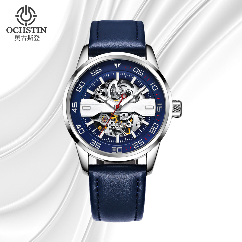 цена на OCHSTIN New Skeleton Automatic Watch Men Waterproof Luxury Luminous Mechanical Wrist Watch for Men Clock Hodinky Erkek Kol Saati