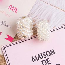 Pearls Beads Hair Ties