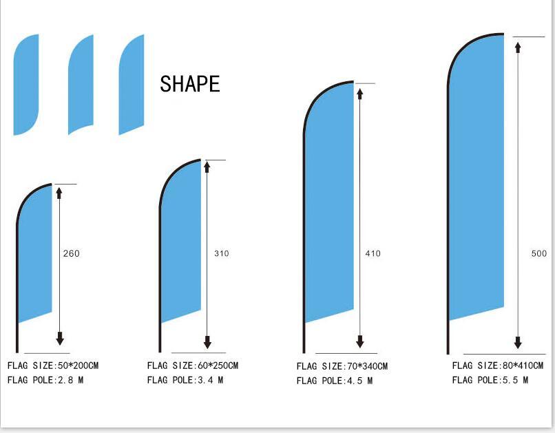 Aerlxemrbrae personnalisé plage drapeau Graphique impression personnalisée pour Plume drapeau bannière graphique publicité promotion,