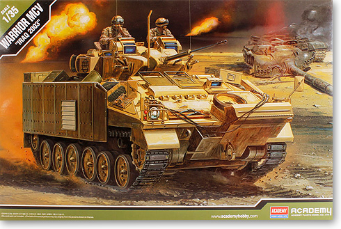 1/35 British Warrior Armoured Infantry Vehicle (Iraq War) 13201