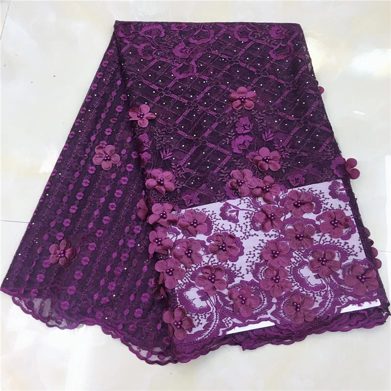 3d 꽃 레이스 스위스 아프리카 레이스 직물 두바이 스타일 2019 고품질 스위스 voile 레이스 소재 바느질 패션 드레스-에서레이스부터 홈 & 가든 의  그룹 1