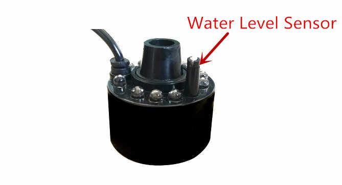 12 led ライト 20 ミリメートル超音波ミストメーカー噴霧器噴水池アトマイザー空気加湿器清浄アロマミストスチーム
