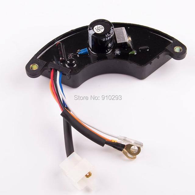 5kw オープンスタイル単相 avr ガソリン発電機部分電圧レギュレータ · コントローラスタビライザー 220 ボルト