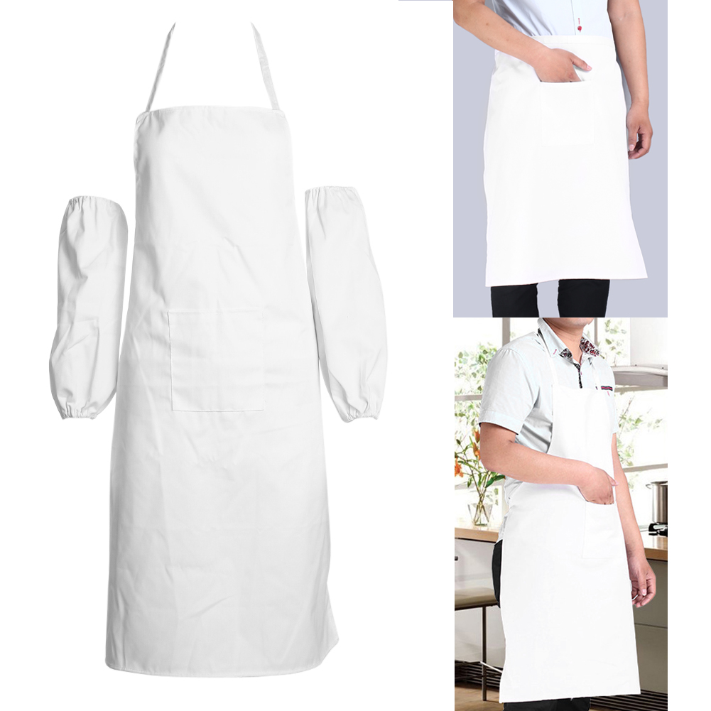 Aliexpress.com : Buy New White Universal Bib Apron With