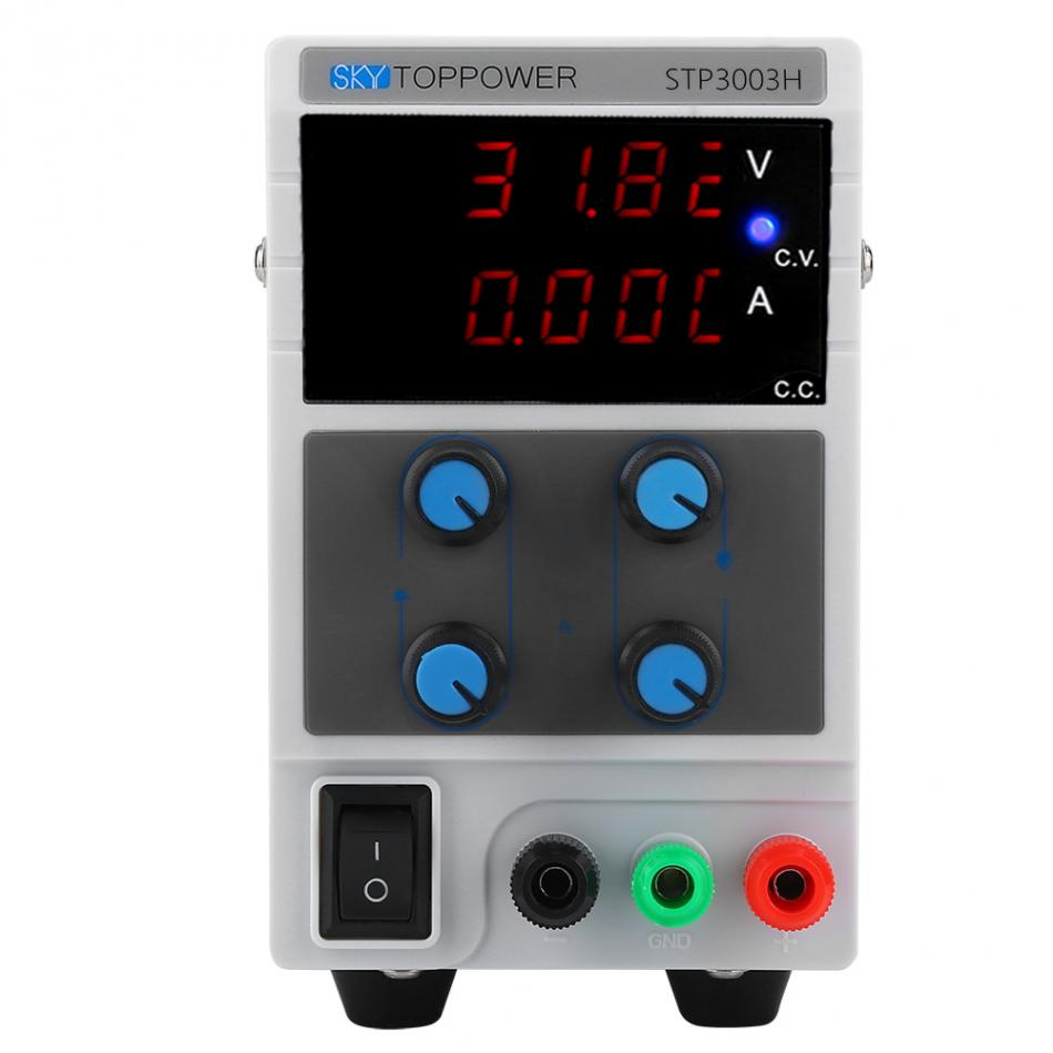 SKYTOPPOWER Variable Regulated DC Power Supply 0-30V/60V 0-3/5/10A Adjustable  STP3003HSKYTOPPOWER Variable Regulated DC Power Supply 0-30V/60V 0-3/5/10A Adjustable  STP3003H