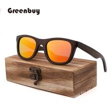 New style retro-fashionable bamboo-wooden bamboo-brown Sunglasses men polarized