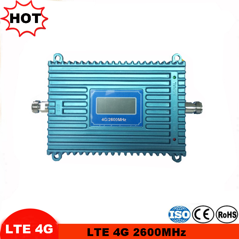 65dB Mobile Signal Booster 4g Lte Repeater Amplifier 2600MHZ Or 700MHz Or 800Mhz Cell Phone Amplifier 4g Cell Phone Booster Kit
