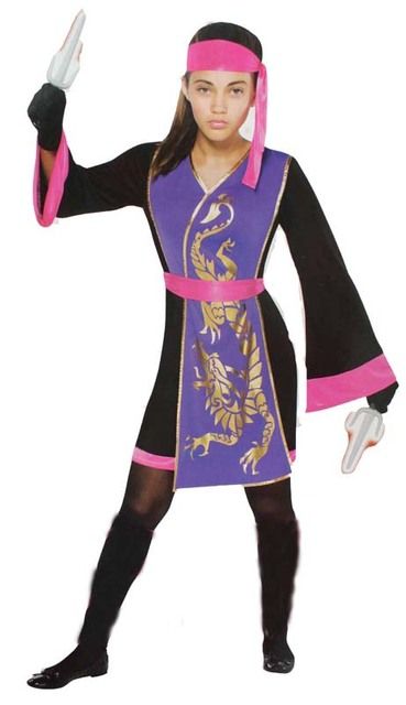 Halloween Party Cosplay Costumes Girl Children Japanese Samurai Ninja Costume Clothes Fancy Dress Party Supplier Children  sc 1 st  AliExpress.com & Halloween Party Cosplay Costumes Girl Children Japanese Samurai ...